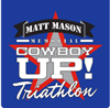 Matt Mason Cowboy Up! Triathalon Logo